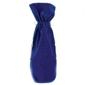 China Velvet Wine Bottle Drawstring Bag Custom Reusable Wine Bag of Drawstring Closure  on sale