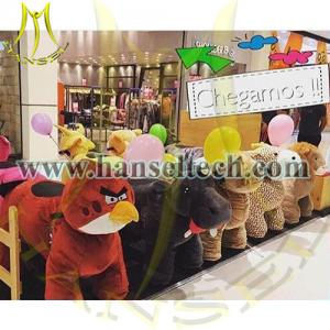 China Hansel animal electric joy ride sale amusement zoo ride for mall on sale