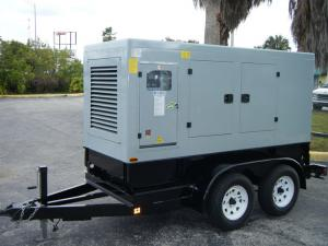 40kva - 600kva Trailer Mounted Diesel Generator With Turn-table for sale – Trailer Mounted ...