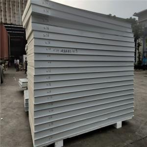 standard size thermal insulation metal sheet PU sandwich