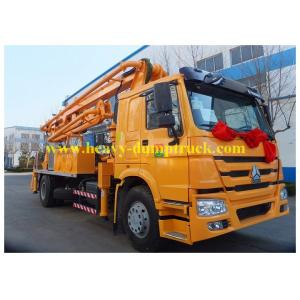 China Sinotruk concrete pump truck Superior 24 meters with HOWO chassis  truck mounted pump on sale