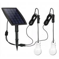 6000K IR Controller Solar Powered Bulb IP65 For Outdoor Garden Pathway