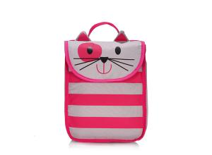 China Lovely Stripe Insulated Soft Cooler Picnic Lunch Bag Freezer Tote promotional bag gift on sale