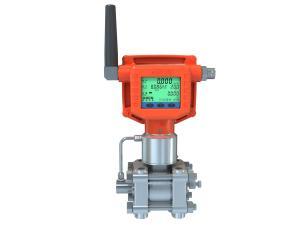 China Multi Parameter Digital Flow Meter , Digital Water Flow Meter 800M Wireless Transmission Distance on sale