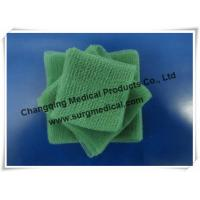 EU Standard Pre - cut Green Surgical Absorbent Cotton Gauze Pads Swab