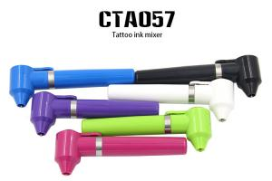 China Plastice Permanent Makeup Tattoo Accessories Ink Mixer with 6 Color Availabl on sale