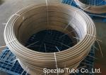 A tubulação de aço inoxidável frente e verso de ASTM A789 UNS S31803, categoria 2205 bobinou a tubulação de aço inoxidável
