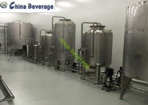 China Pure Reverse Osmosis Water Treatment System For Water Bottling Line SUS316 on sale