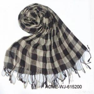 China Fashion Checked Scarf on sale