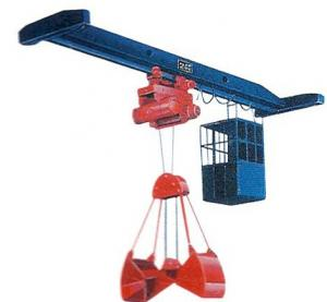 China High Working Efficiency LZ Single Girder Crane on sale