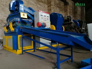 China Energy Saving Copper Separator Machine , Copper Wire Recycling Equipment 200 - 300kg/h on sale