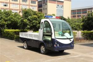China Transportation Electric Hotel Buggy Car 2 Seats With A Flat Fencing Cargo on sale