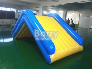 China Commercial 4 * 2 * 2M Floating Water Inflatable Slide With 0.9mm PVC Tarpaulin on sale