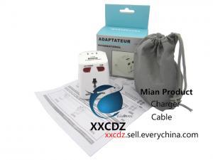 China Electrical Plugs Travel Socket Power Plug Power Convertor Universal Global Plug Adapter on sale