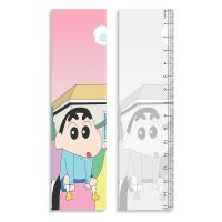Straight Rulers 3D Lenticular Printing Service With Crayon Shin - Chan Design