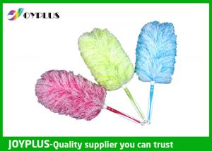 China Beautiful Dust Stick Duster Extendable Microfibre Washable Duster TPR Handle on sale