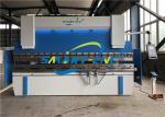 125 Ton Hydraulic Press Brake , 4000mm Aluminum Sheet Bending Machine, NC Bending Machine For Mild Steel