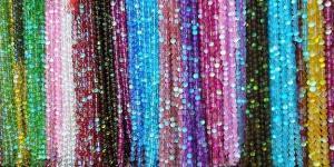 China flash round beads supplier