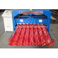 China Hydraulic Wave Roof Glazed Tile Roll Forming Machine / Roll Form Equipment on sale