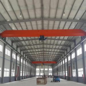 China 15 Ton Single Girder Eot Crane 30m Max Lifting Height Electric Motors Driving on sale