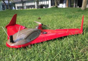RTK/PPK Fixed-Wing Drone With Catapult , GCS Remote Operation For