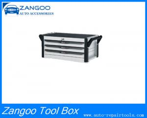 China Black Durable Steel 3 / 4 Drawer Intermediate Roller Tool Box on sale