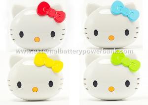 China Hello Kitty Iphone / Ipod Mobile Charging Power Bank USB 18650 5200mah on sale
