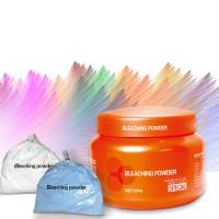 China Dust Free Fiber Hair Bleaching Powder Customized Logo on sale