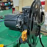 10 Ton Single Girder Ton Retractable Hose Reel 250A Cable Reel Drum