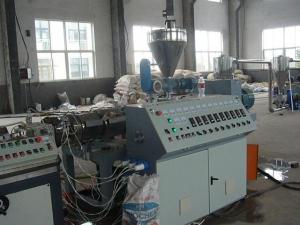 China Energy Saving PE Additives WPC Extrusion Machine , Screw Type on sale