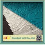 Tela de la PU de Embssed de las cubiertas de asiento de carro/material de tapicería de cuero sintéticos de la piel artificial