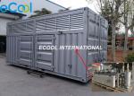 Modular Refrigeration Station with Compressor Unit , Control and Valves inside, No Need Machine Room