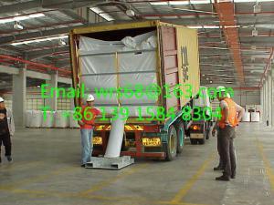 China バルク袋の輸送適用範囲が広い PP は 20' 40'のためのバルク コンテナはさみ金をフィートの容器袋に入れます on sale