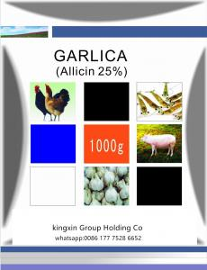 China Garlic allicin for animal feed improve animal health on sale