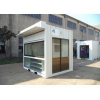 Easy Installation Commercial Prefab Buildings Modern Prefab Homes Eco Friendly For Shop