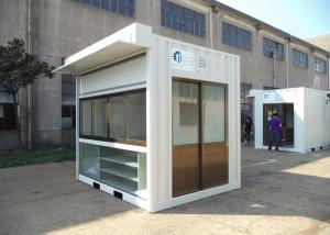 China Easy Installation Commercial Prefab Buildings Modern Prefab Homes Eco Friendly For Shop on sale