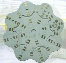 China White HAL / ENIG 4 Layer Aluminium PCB Punching HAL Lead - Free on sale