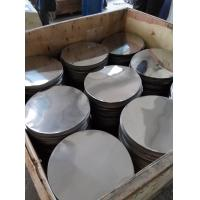 stainless steel disc 410 BA deep drawing soft temper circle