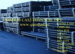 1 1/2-15 CSA B70 No Hub Cast Iron MJ Pipe with 10' Length