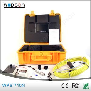 China wholesale drain sewer pipe inspection system with ccd digtal camera on sale