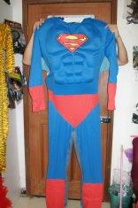 Quality custom design classic Superman adult mascot costume for entertainment for sale