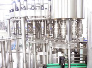 China High Speed Beverage Fruit Juice Filling Machine / Automated Drink Filling Line 200-2000ml Juice Filler on sale