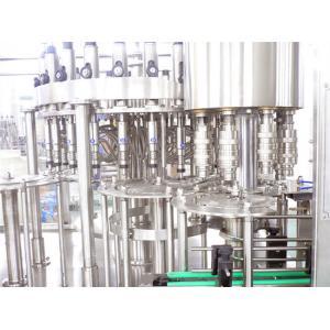 China Automatic Fruit Juice Filling Machine 10.5KW Beverage Filling Equipment in 110V 220V on sale