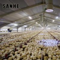 China Poultry Farm Shed Chicken House for Broiler Chicken Layer Chicken on sale