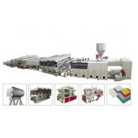 High speed WPC Furniture Wood Board Double Screw Extruder stable running