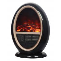 China Oval Portable Flame Effect Electric Heaters TNP-2008I-G3 With CE Certificate on sale