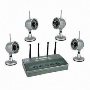 China Waterproof Wireless CCTV Camera with 380TVL Horizontal Definition and PAL/NTSC TV Systems on sale