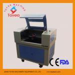 machine de gravure de laser de 4060 cuirs/tissu TIE-4060