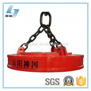 China Powerful Electric Lifting Magnets Grade C Strong Excitation Control System on sale