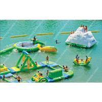 Business Inflatable Water Park Inflatable Sea Trampoline Water Game